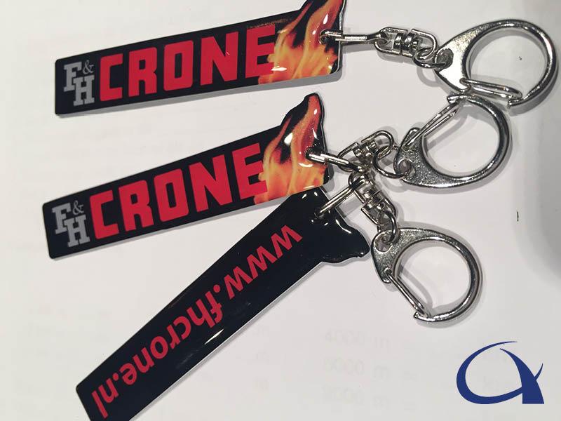 Crone doming sleutelhanger