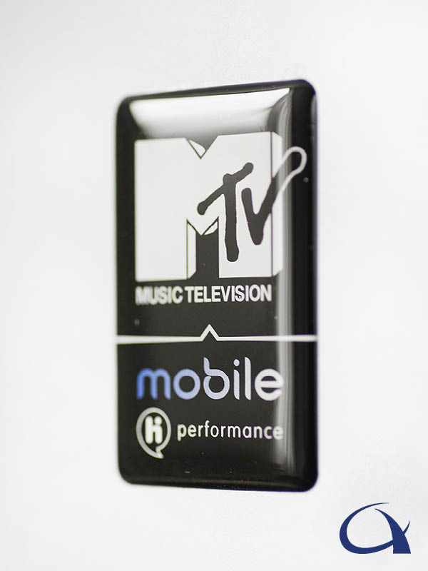 MTV mobile doming sticker